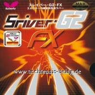 Butterfly Sriver G2 FX
